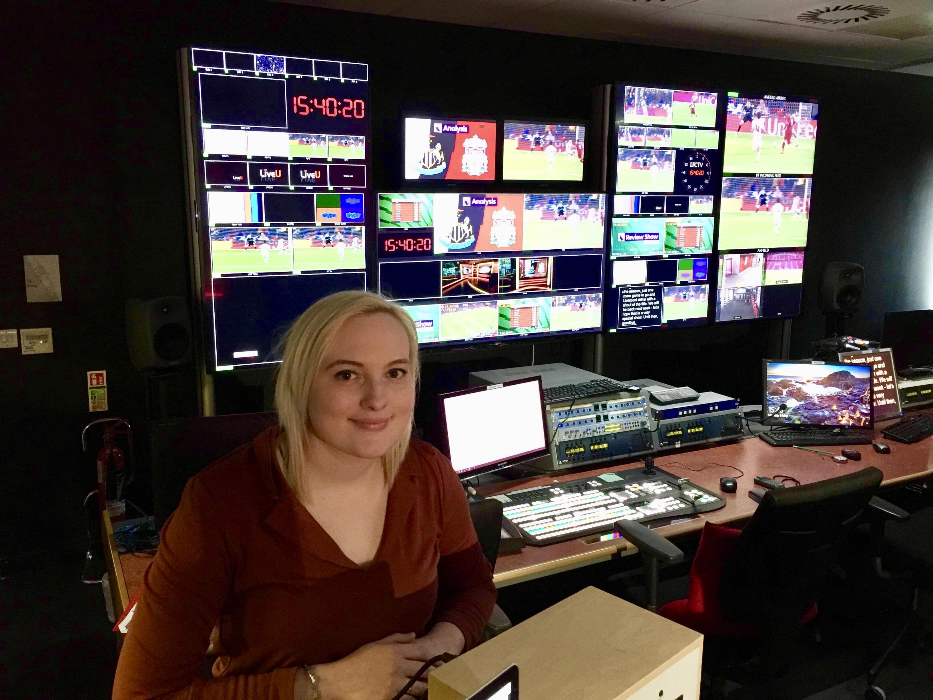 Laura at LFC TV