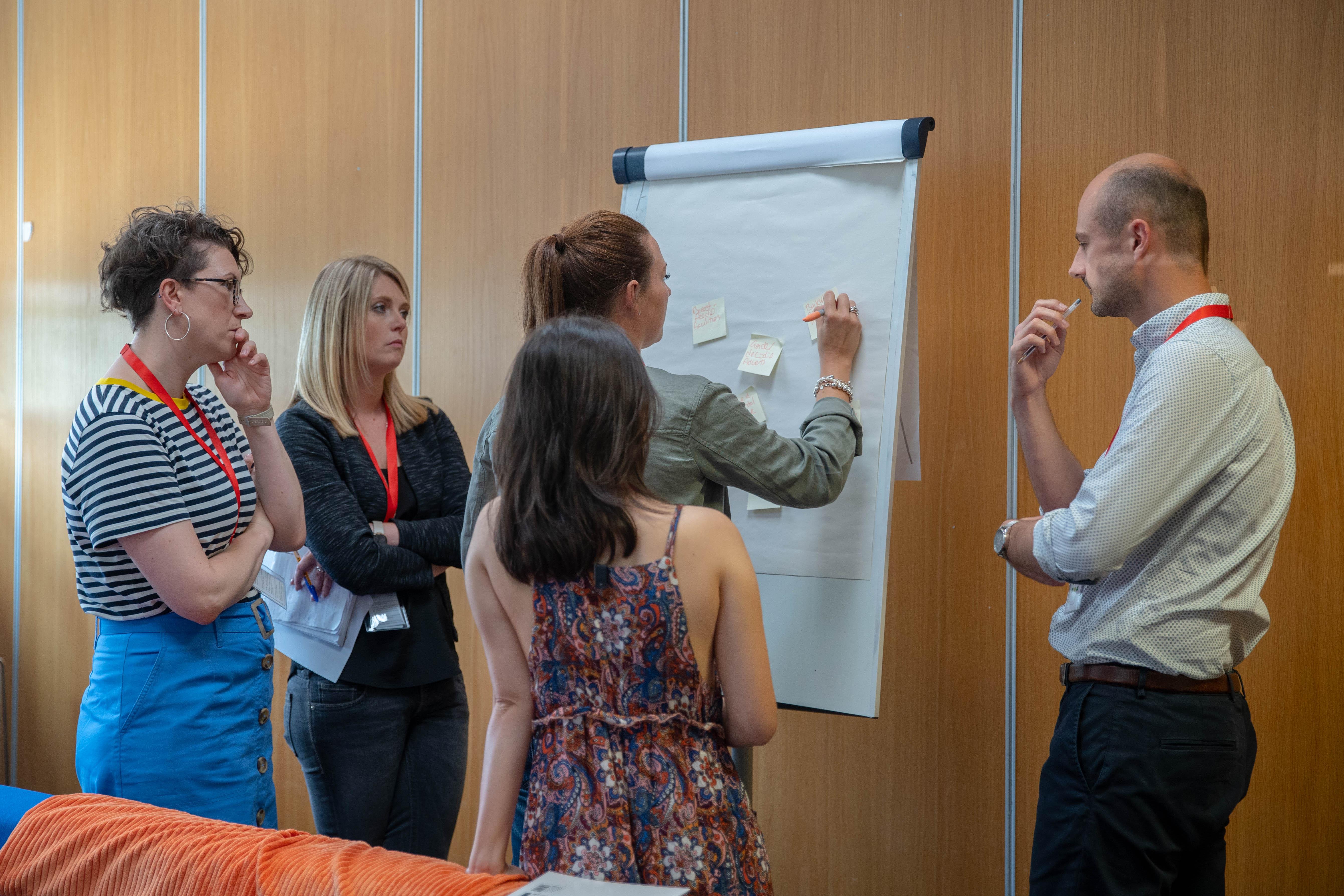 Members taking part in the workshop