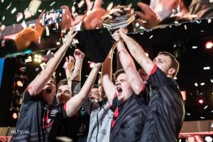 Team Astralis victory